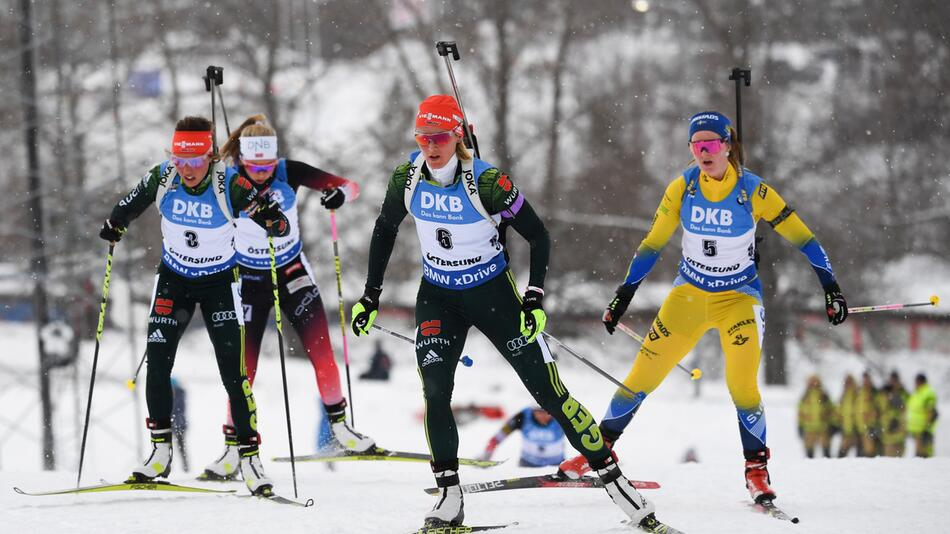 Biathlon, Biathlon-WM, Östersund, Denise Herrmann, Laura Dahlmeier, Ingrid Landmark Tandrevold
