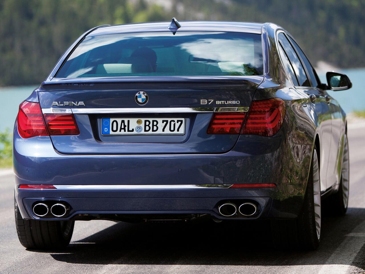 Bild zu BMW Alpina B7 Bi-Turbo All-Wheel-Drive