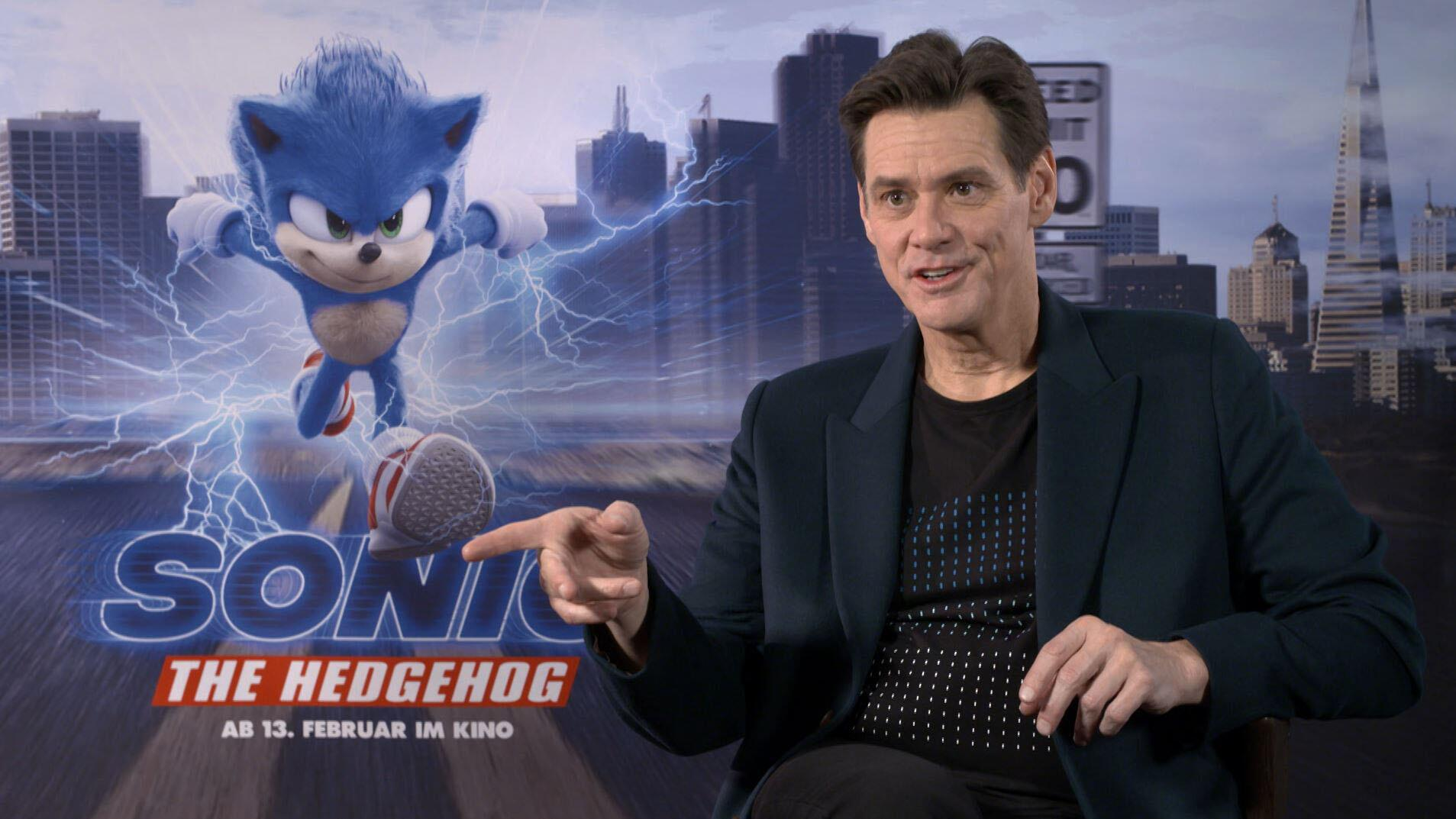 "Bild zu ""Sonic the Hedgehog"": Hollywood-Star Jim Carrey im Exklusiv-Interview"
