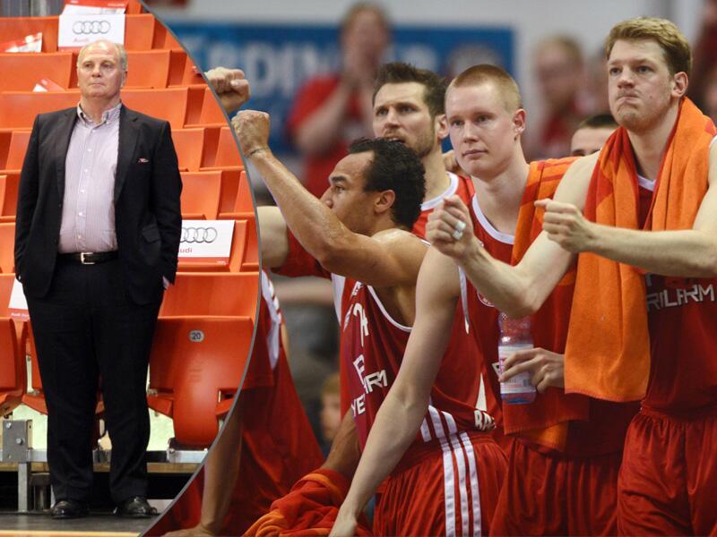 Bild zu Uli Hoeneß und die Bayern-Basketballer