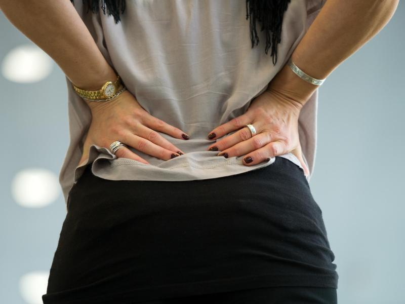 Bild zu Rückenschmerzen