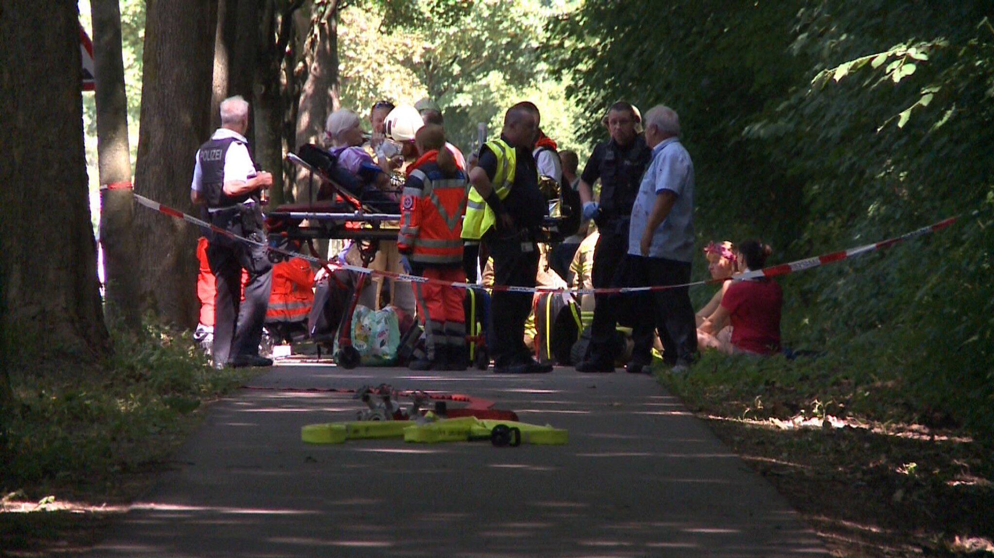 Bild zu Act of violence in Lübeck