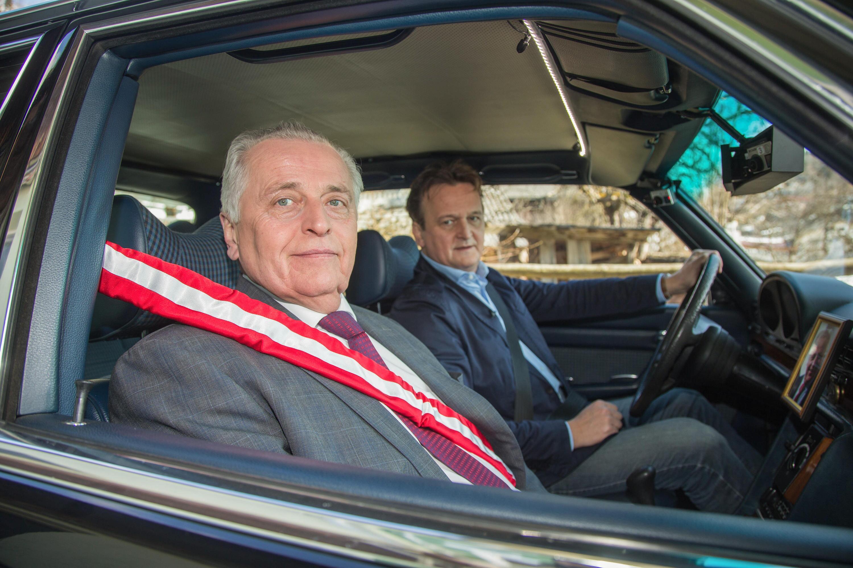 Bild zu Wahlfahrt, Rudolf Hundstorfer, Hanno Settele, Bundespräsidentenwahl 2016