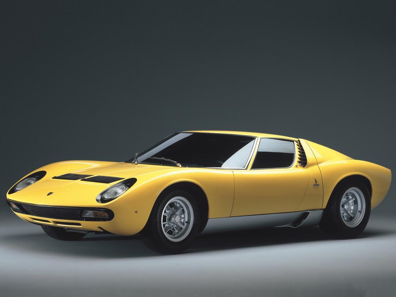 Bild zu Platz 7: Lamborghini Miura