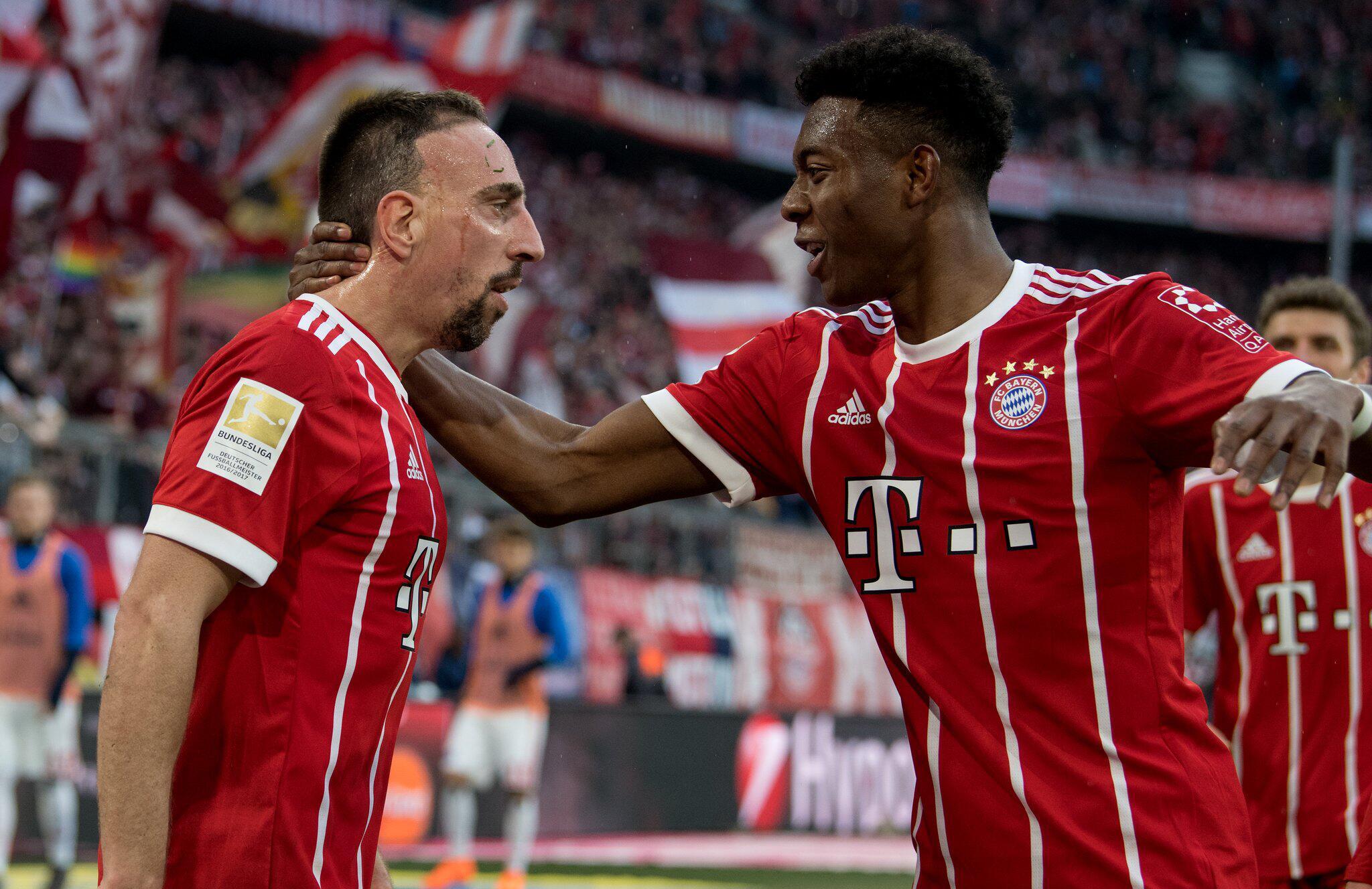 Bild zu Bayern Munich vs Hamburg SV