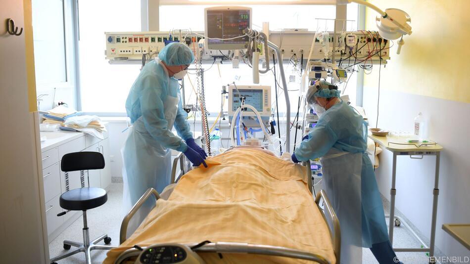 Innerhalb einer Woche kamen 48 schwerkranke Intensivpatienten hinzu