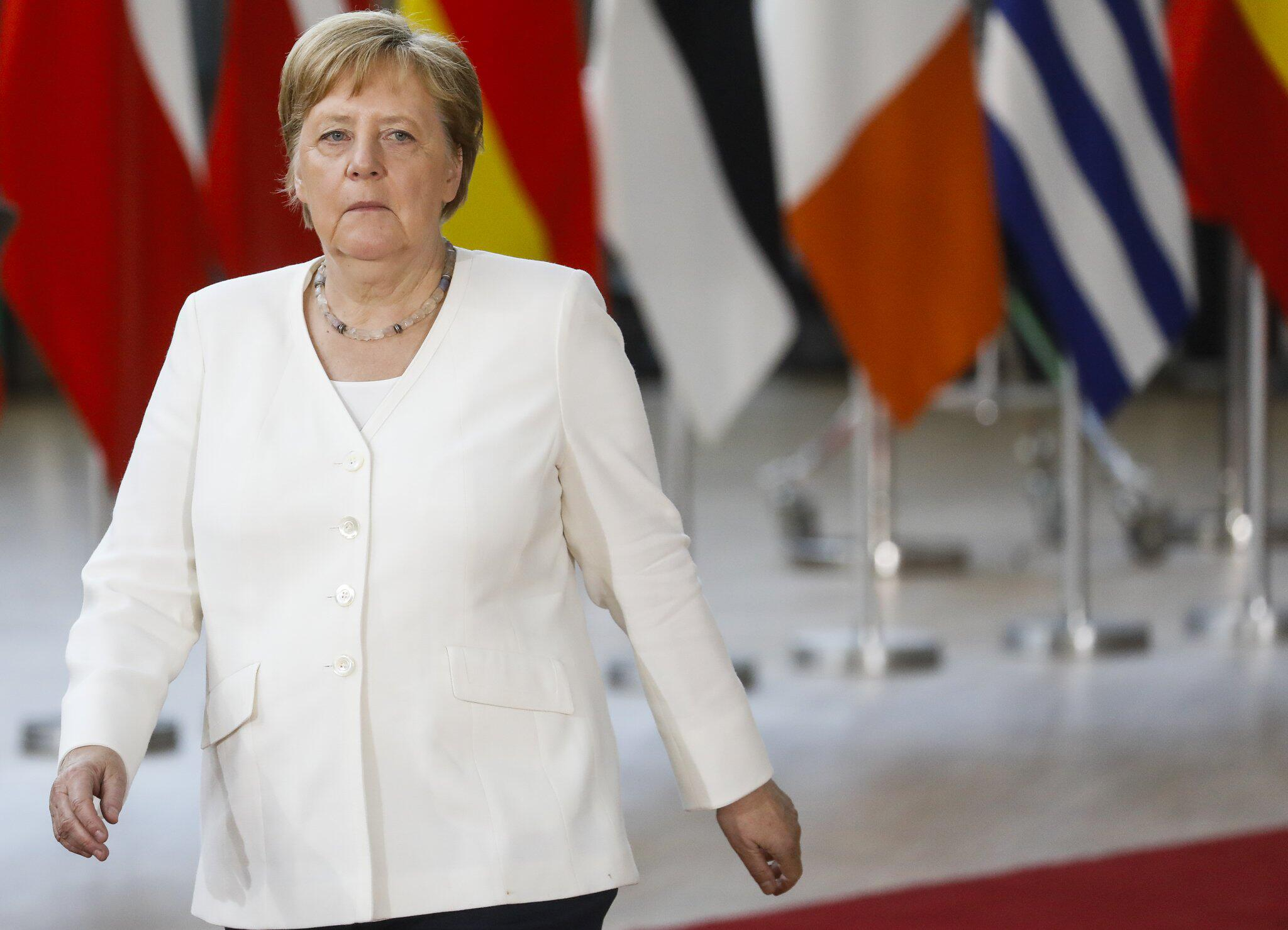 Bild zu EU-Sondergipfel in Brüssel, Angela Merkel
