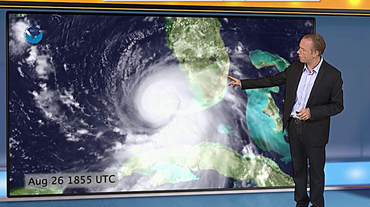 Bild zu Hurricane Katrina Video 1 wetter.com
