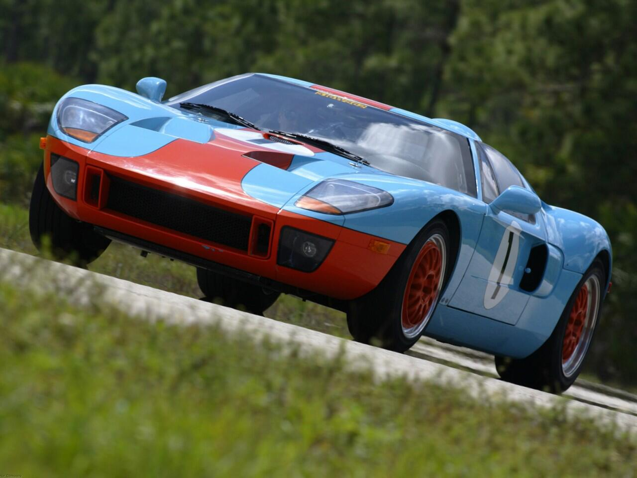 Bild zu Platz 9: Ford GT40