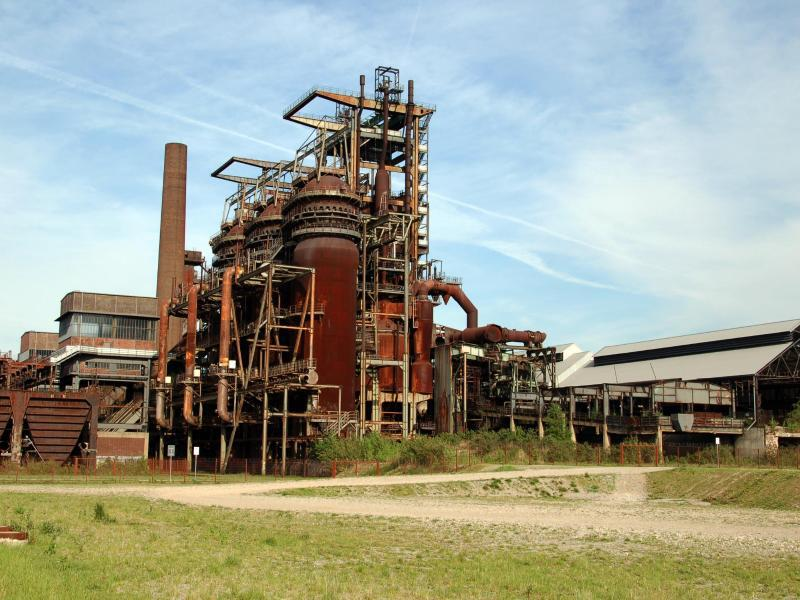 Bild zu Altes Industriegelände Phoenix-West