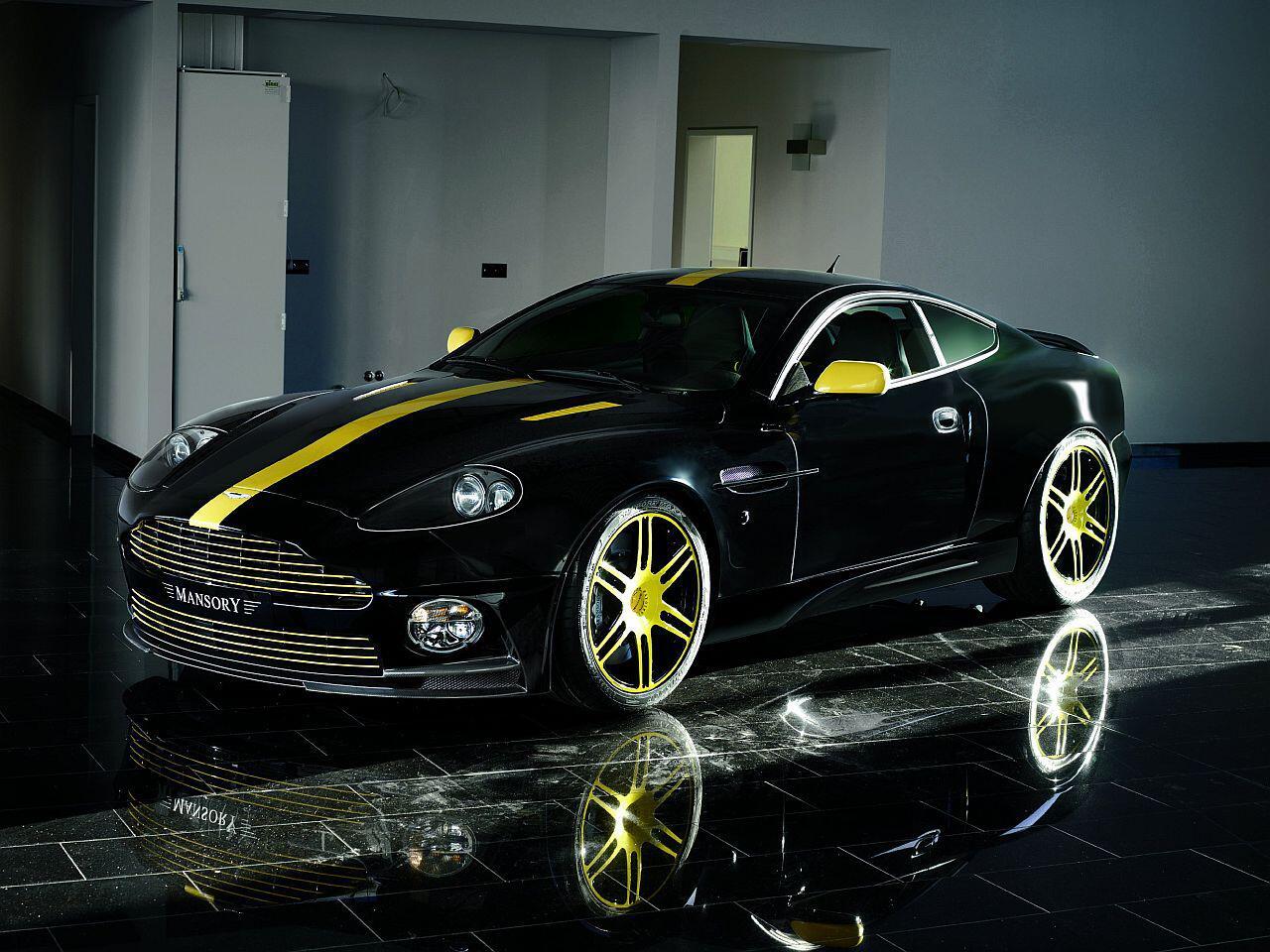 Bild zu Schönheit aus England: Am Aston Martin Vanquish hat Mansory massiv rumgewerkelt