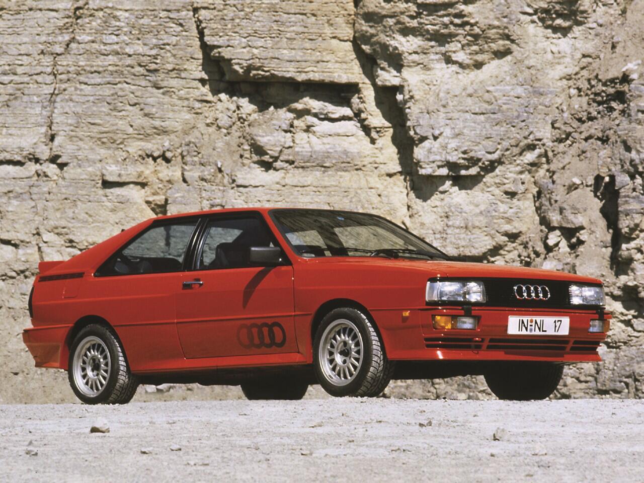 Bild zu Platz 6: Audi Quattro