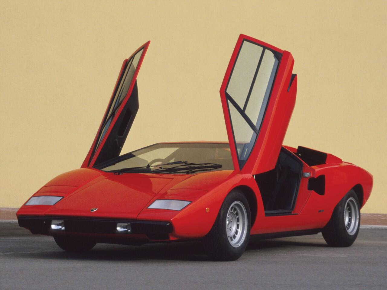 Bild zu Platz 4: Lamborghini Countach