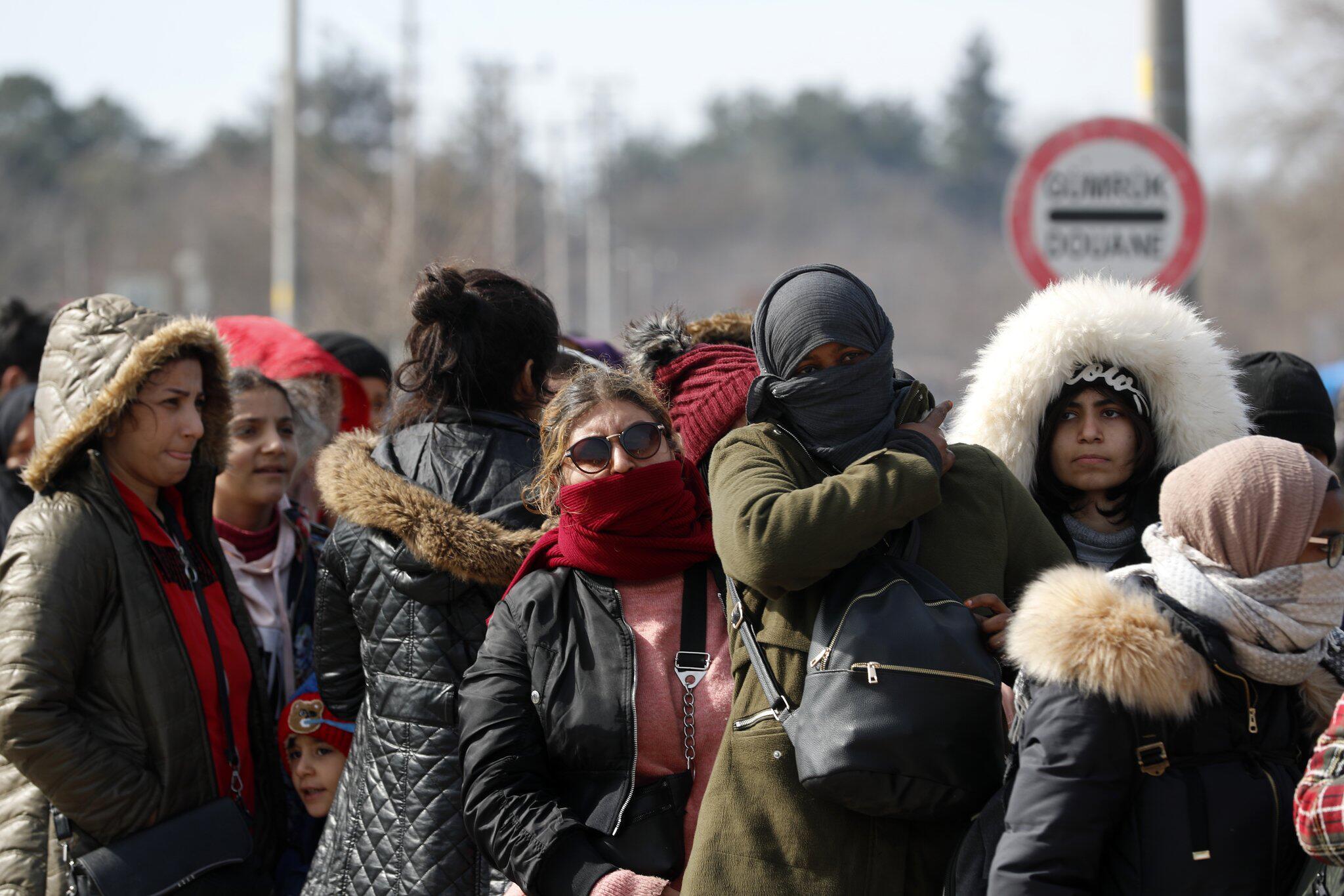 Bild zu Migranten an der griechisch-türkischen Grenze