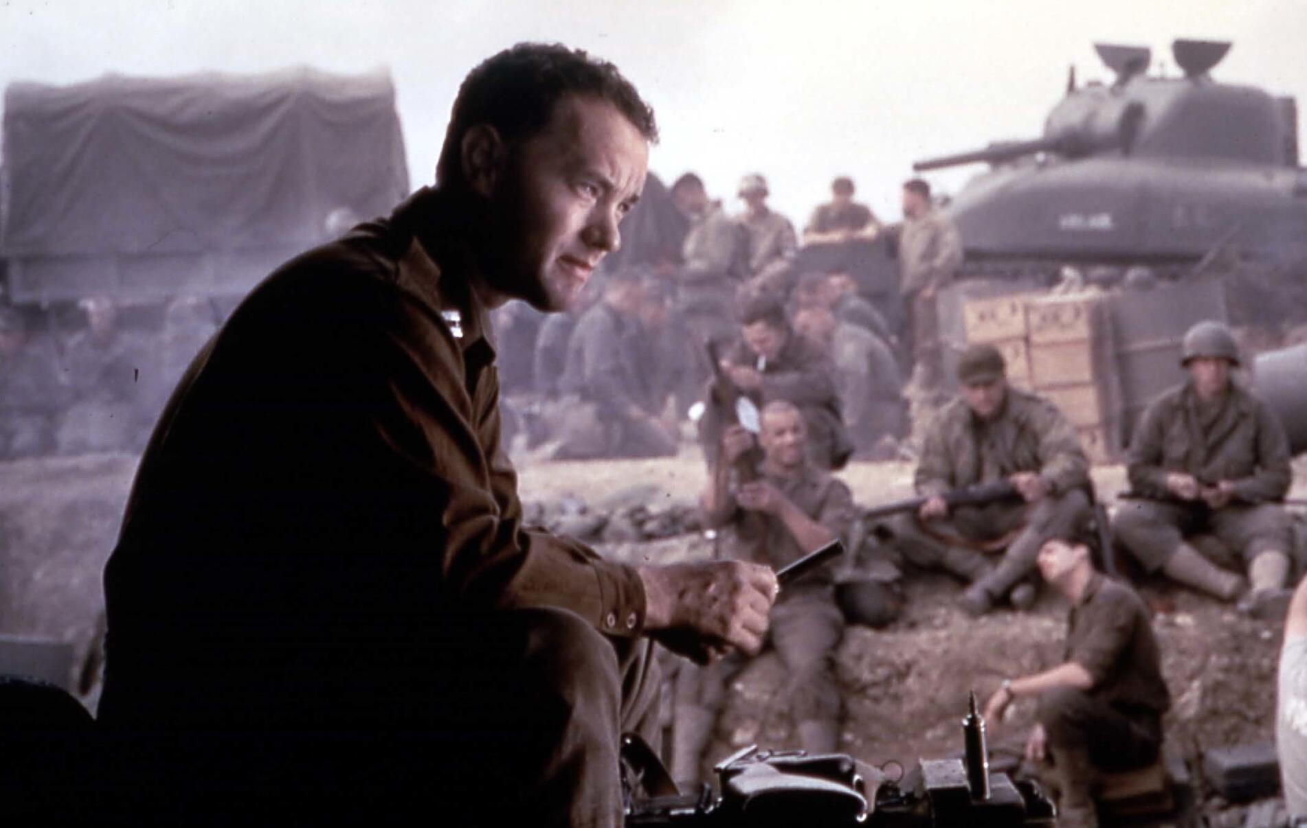 Bild zu Tom Hanks, Der Soldat James Ryan