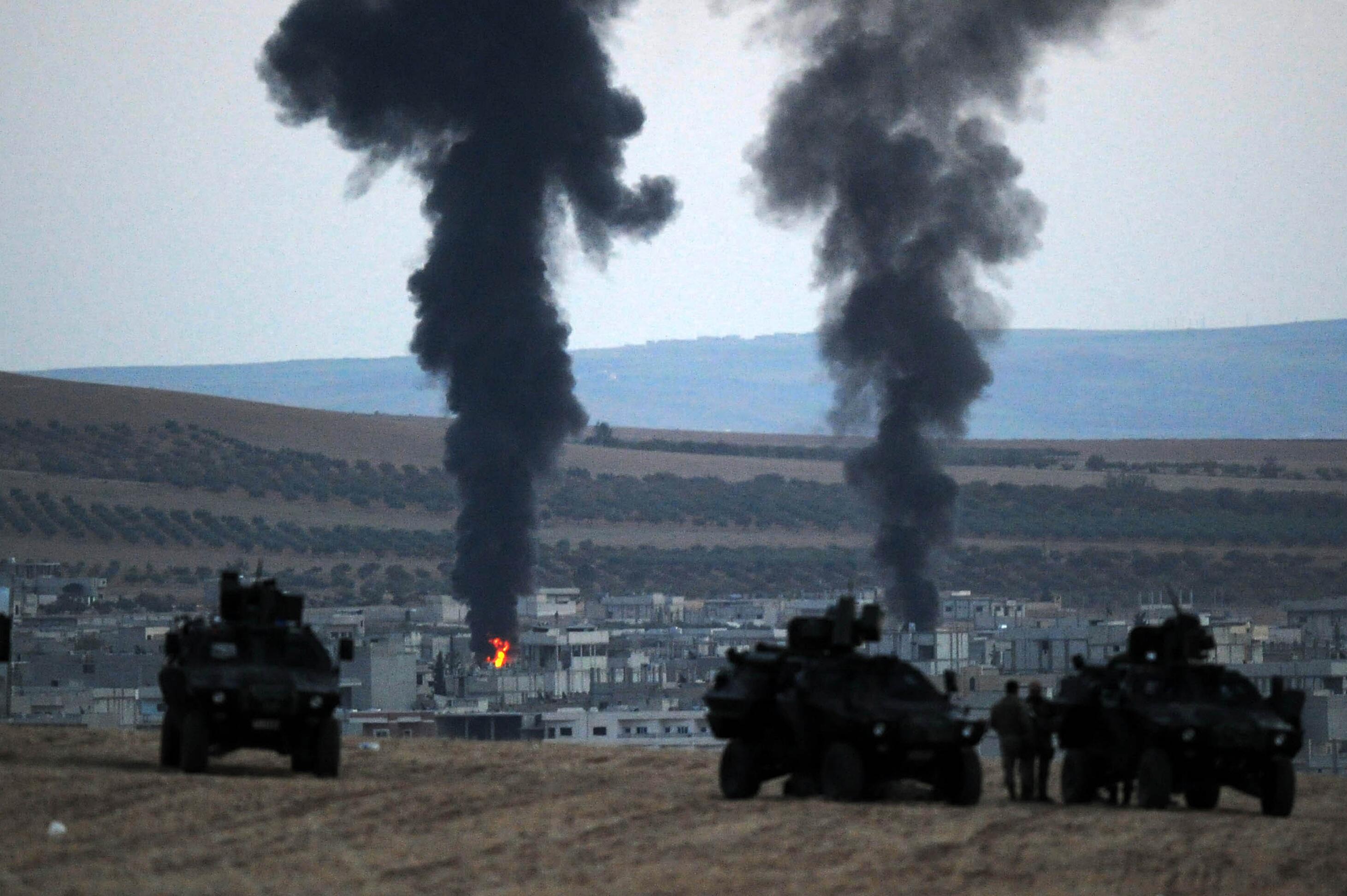 Bild zu Erdgans Angriffskrieg in Syrien