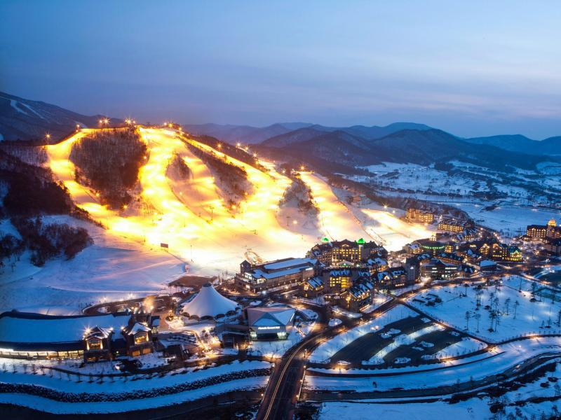 Bild zu Ski Resort in Pyeongchang