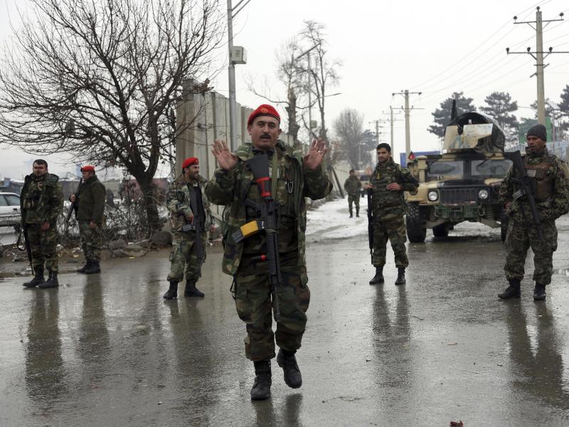 Bild zu Marshal-Fahim-Militärkademie in Kabul