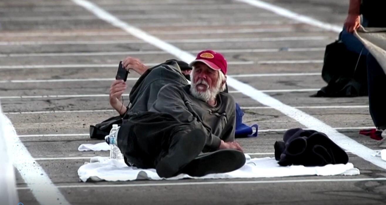 Bild zu Obdachlose in den USA - Corona