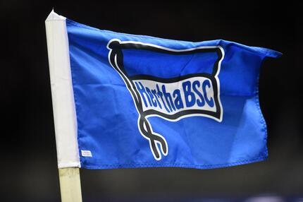 Hertha BSC,, Eckfahne