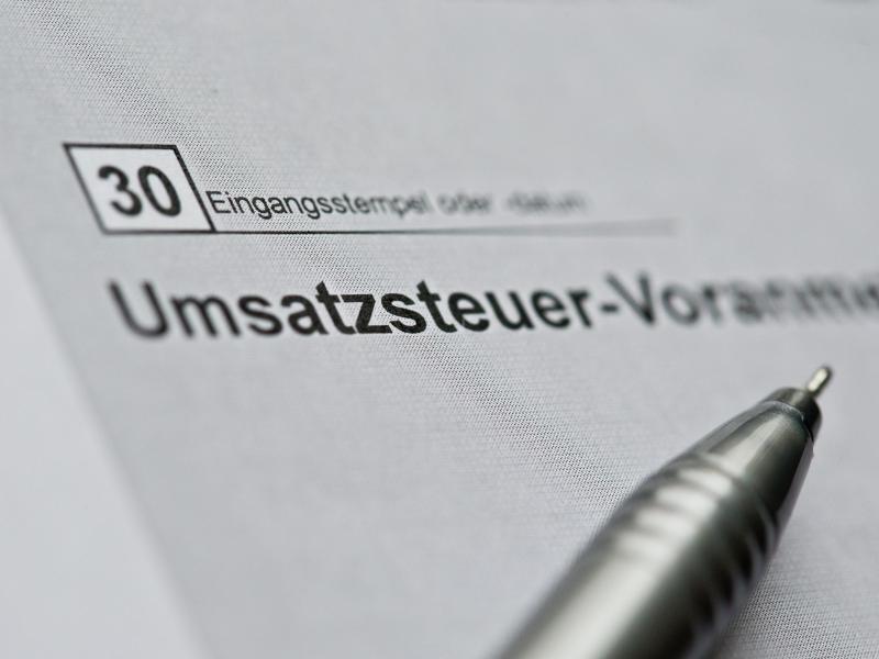 Bild zu Umsatzsteuer-Voranmeldung