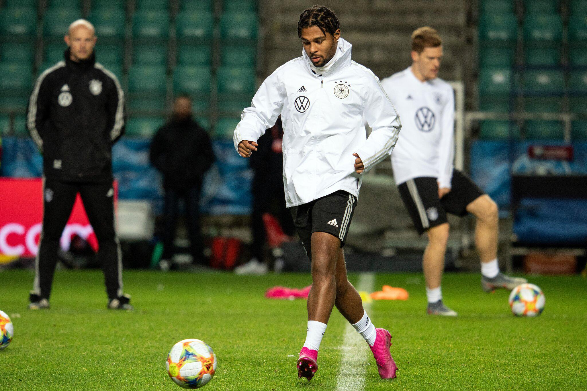 Bild zu Training national soccer team