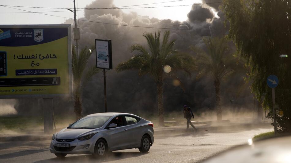 Israelischer Raketenangriff auf Gazastreifen