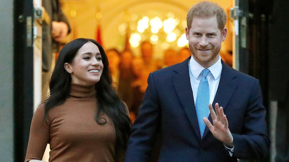 Prinz Harry und Meghan erklären finalen Rückzug
