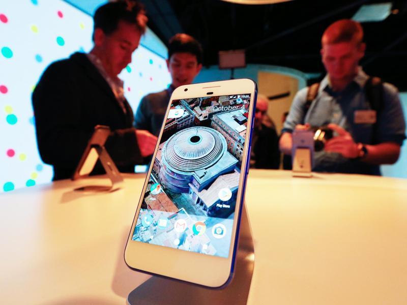 Bild zu Googles Smartphone Pixel