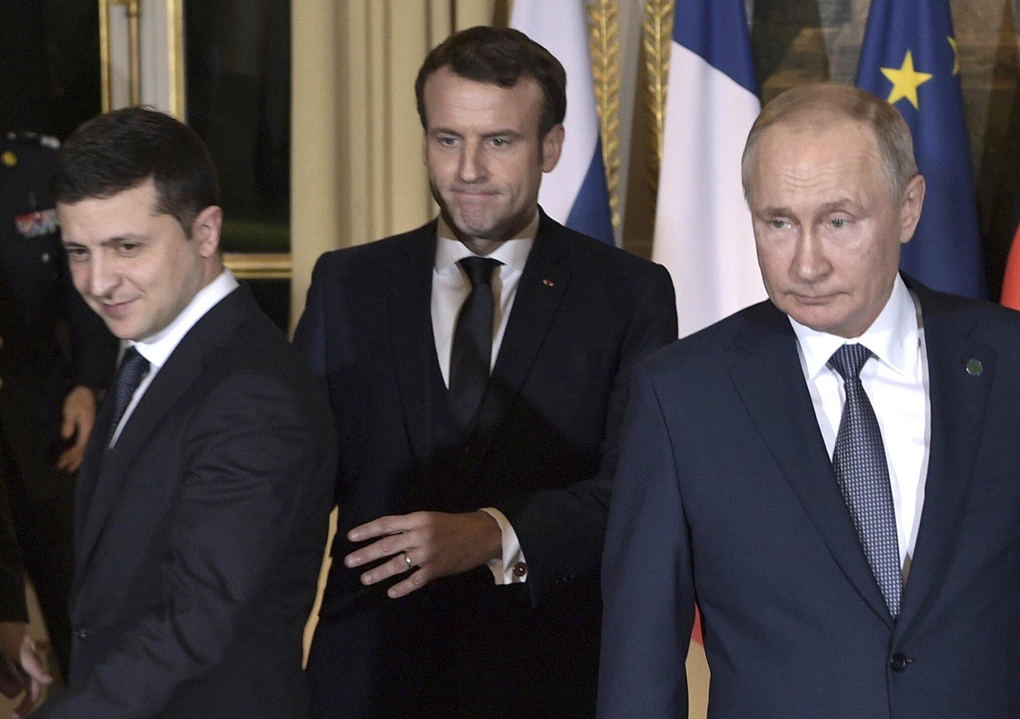 Bild zu Ukraine-Gipfel in Paris