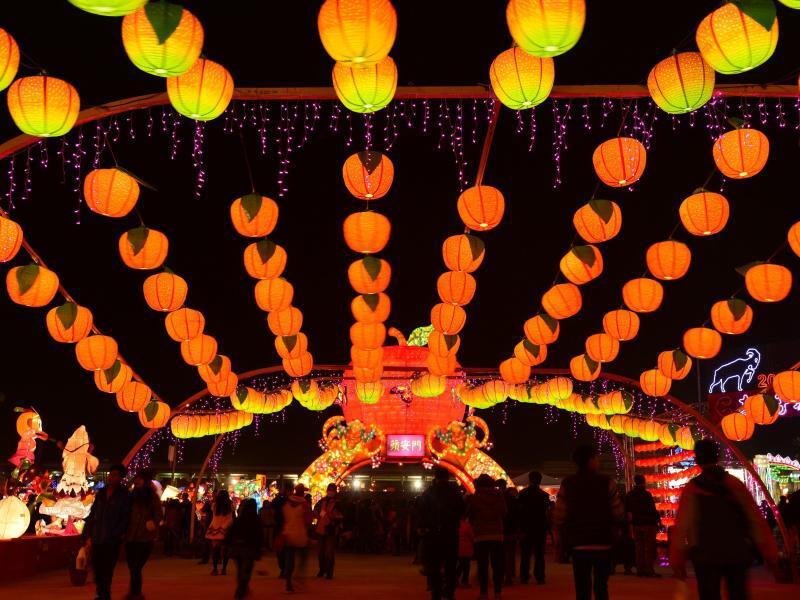 Bild zu Lichtermeer in Taoyuan