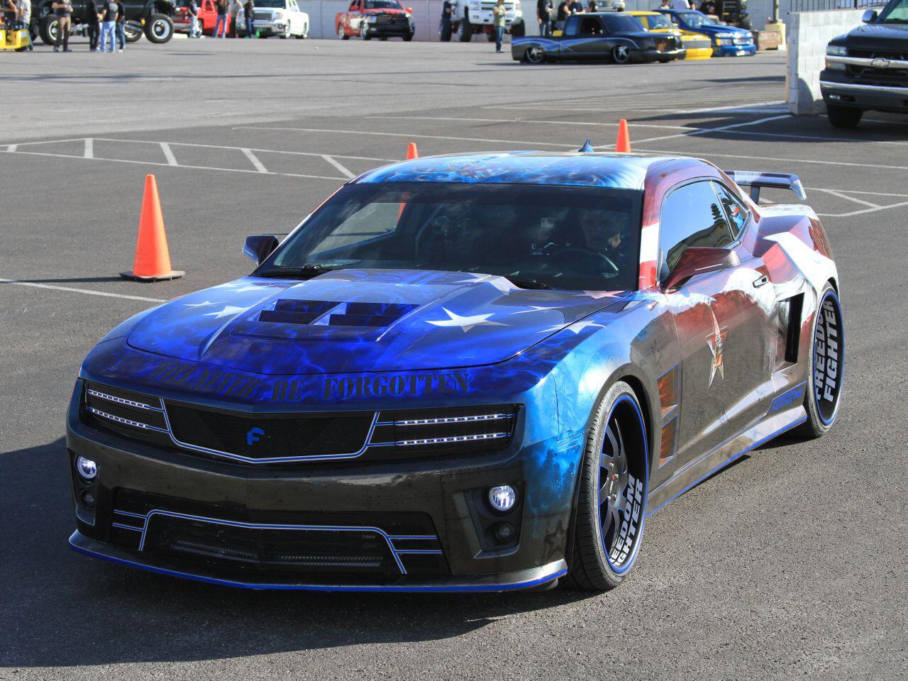 Bild zu SEMA 2013 in Las Vegas: Der Chevrolet Camaro passte perfekt zur Messe