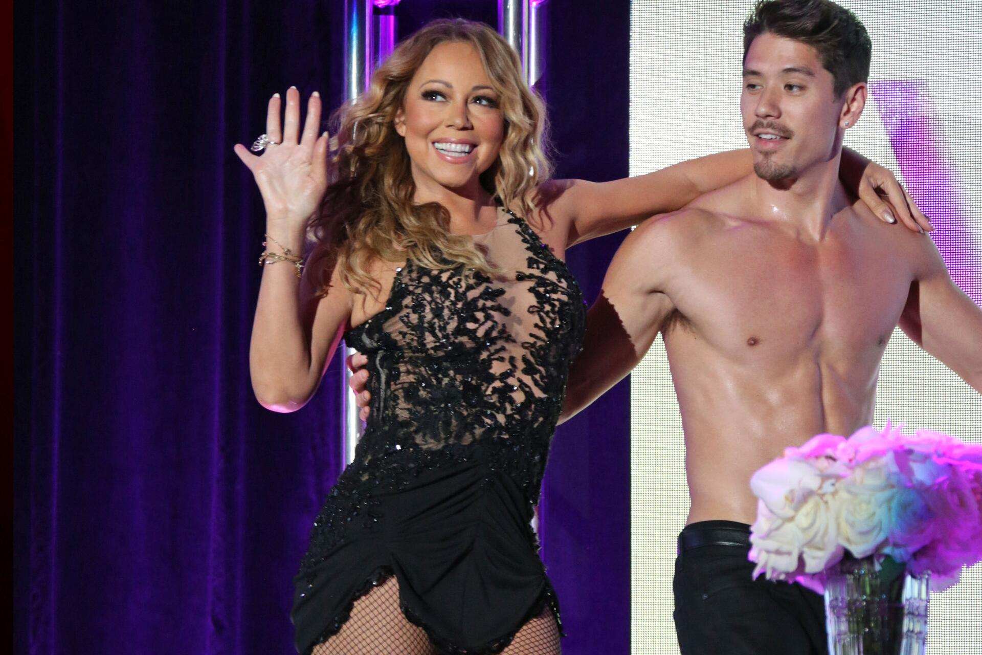 Bild zu Mariah Carey, Bryan Tanaka
