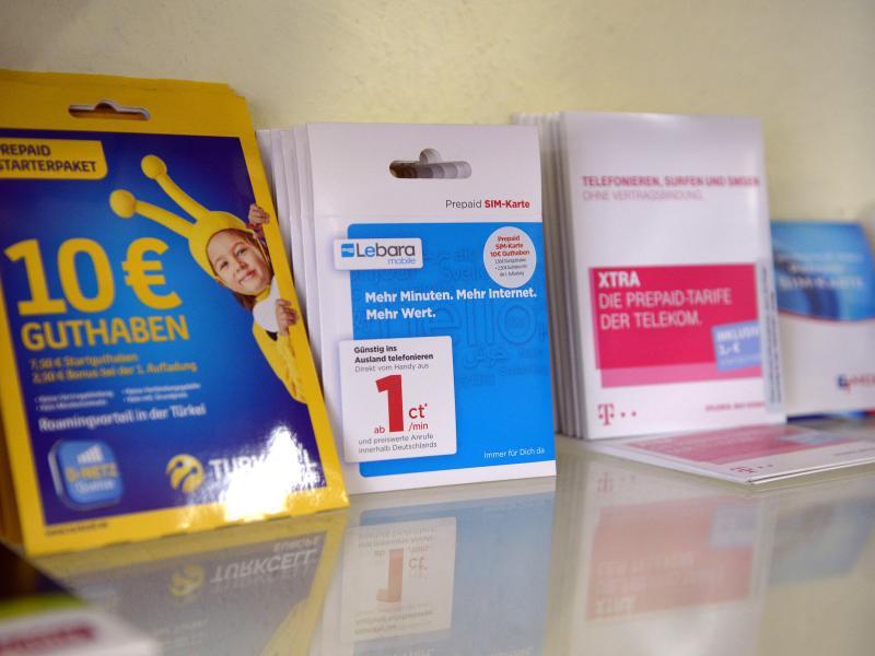 Bild zu Prepaid Sim-Karten