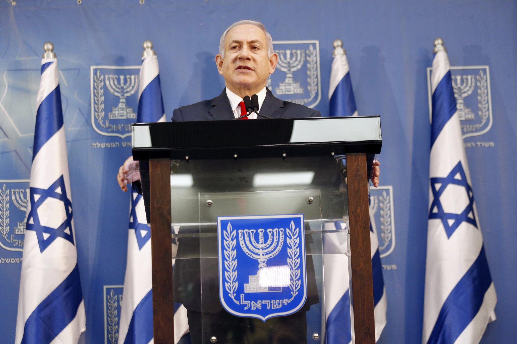 Bild zu Regierungskrise in Israel - Netanjahu