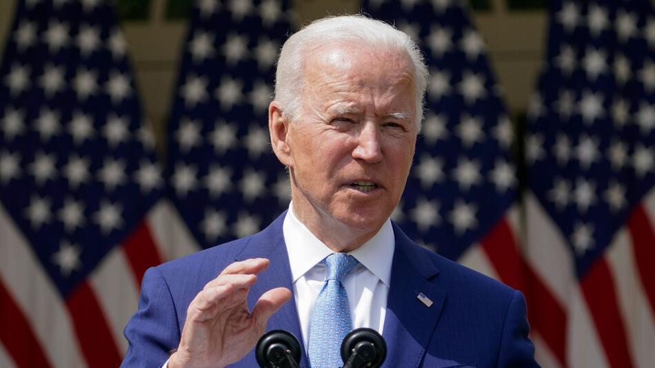 US-Präsident Biden - Verschärfung des Waffenrechts