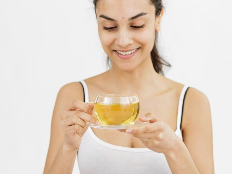 Bild zu Tee beim Fasten