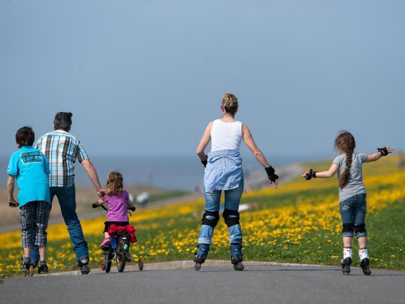 Bild zu Familienausflug auf Rädern