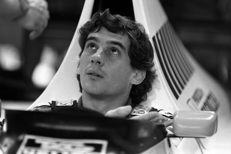 Bild zu Ayrton Senna, McLaren, McLaren-Honda