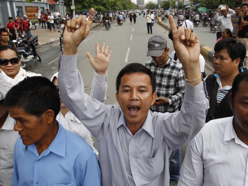 Bild zu Proteste in Kambodscha