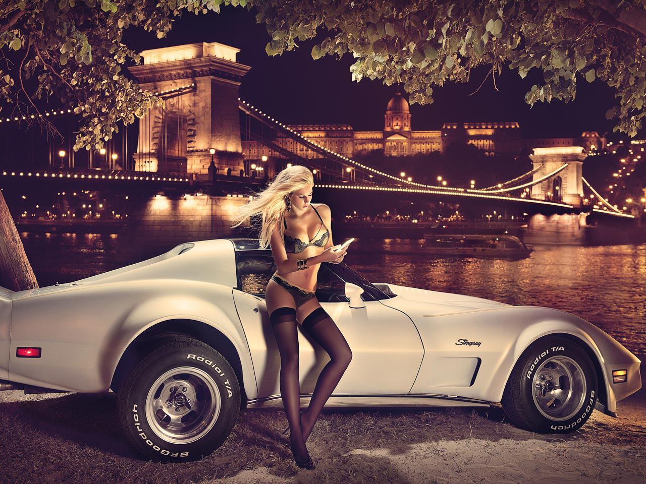 Bild zu Extrem heiß und sexy: Die Titelmotive der Miss Tuning-Kalender