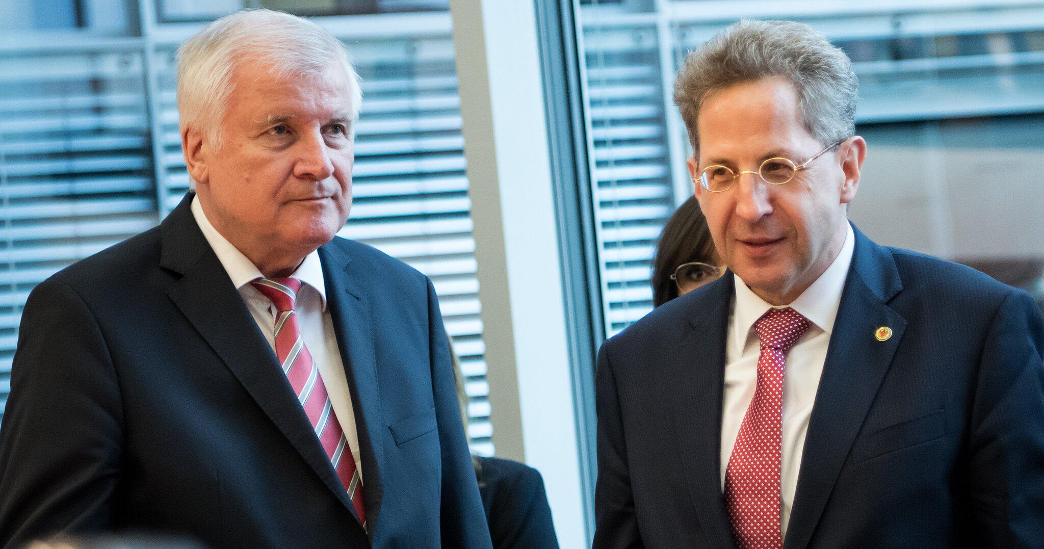 Bild zu Verfassungsschutzpräsident Maaßen