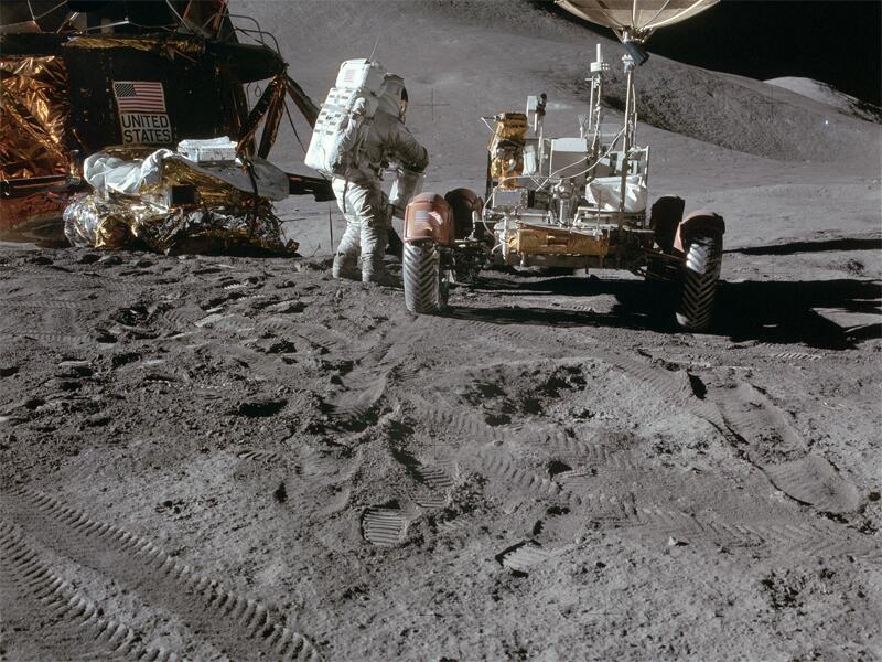 Bild zu Luna Roving Vehicle