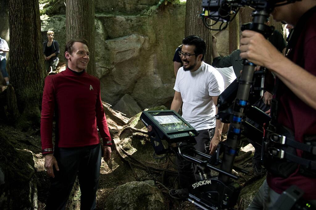 """Simon Pegg in """"Star Trek"""""""