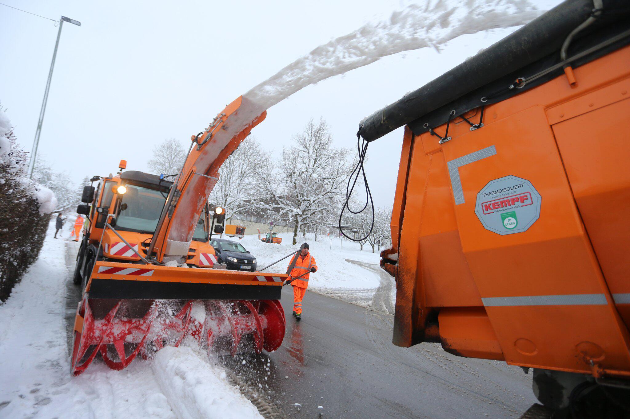 Bild zu Wetter Wintereinbruch in Bayern