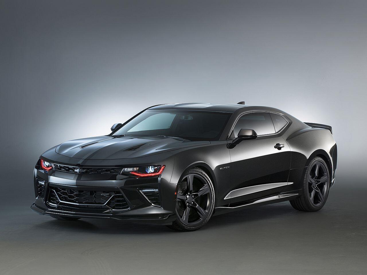Bild zu Chevrolet Camaro Black