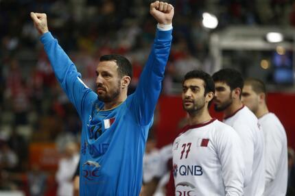 Handball WM 2015 Katar Goran Stojanovic