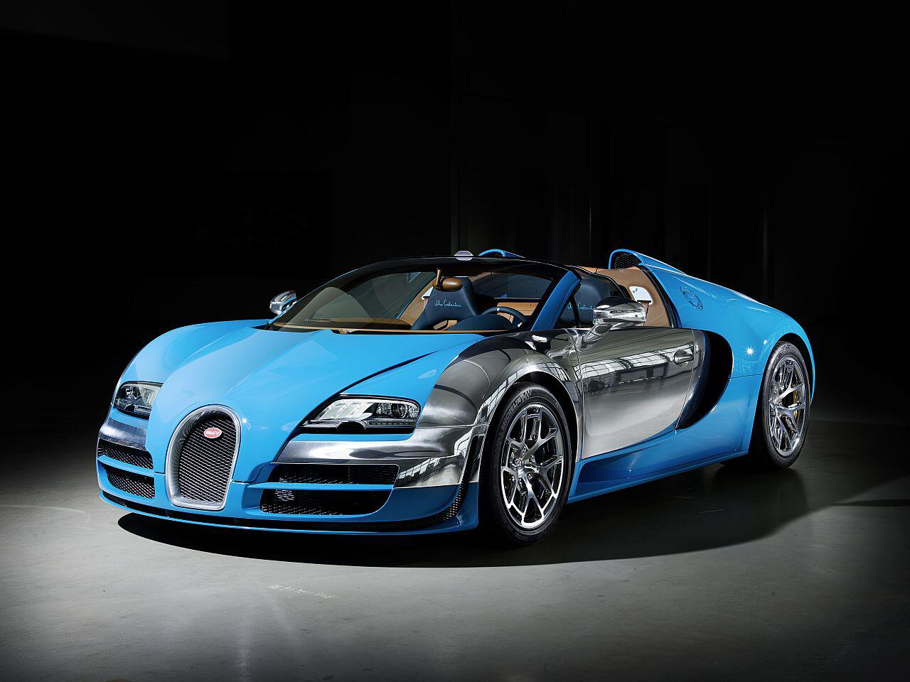 Bild zu Bugatti Veyron Meo Constantini: Zu Ehren eines ehemaligen Rennleiters