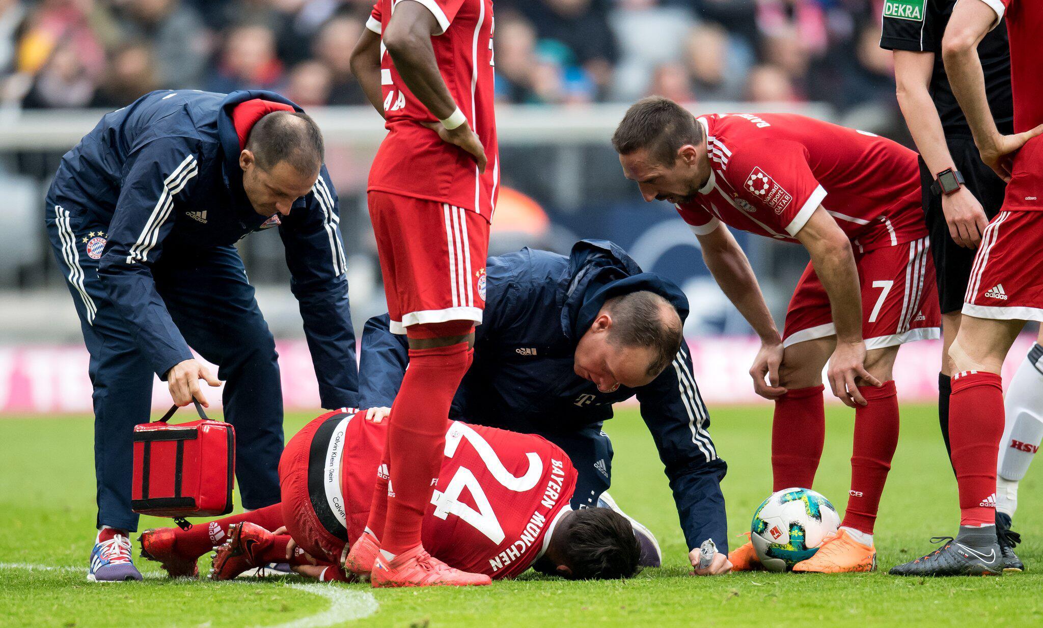 Bild zu Bayern München - Hamburger SV