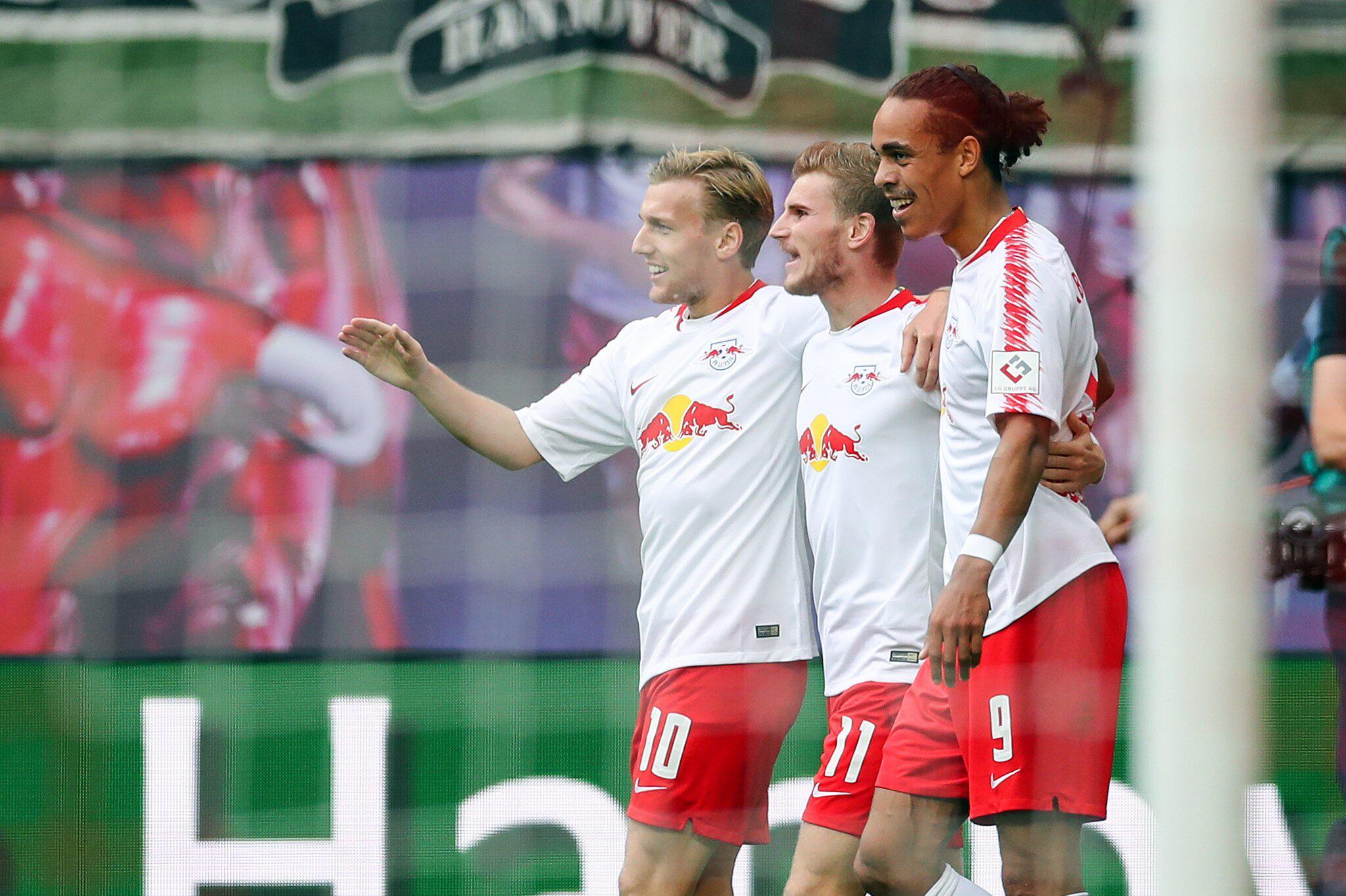 Bild zu RB Leipzig - Hannover 96